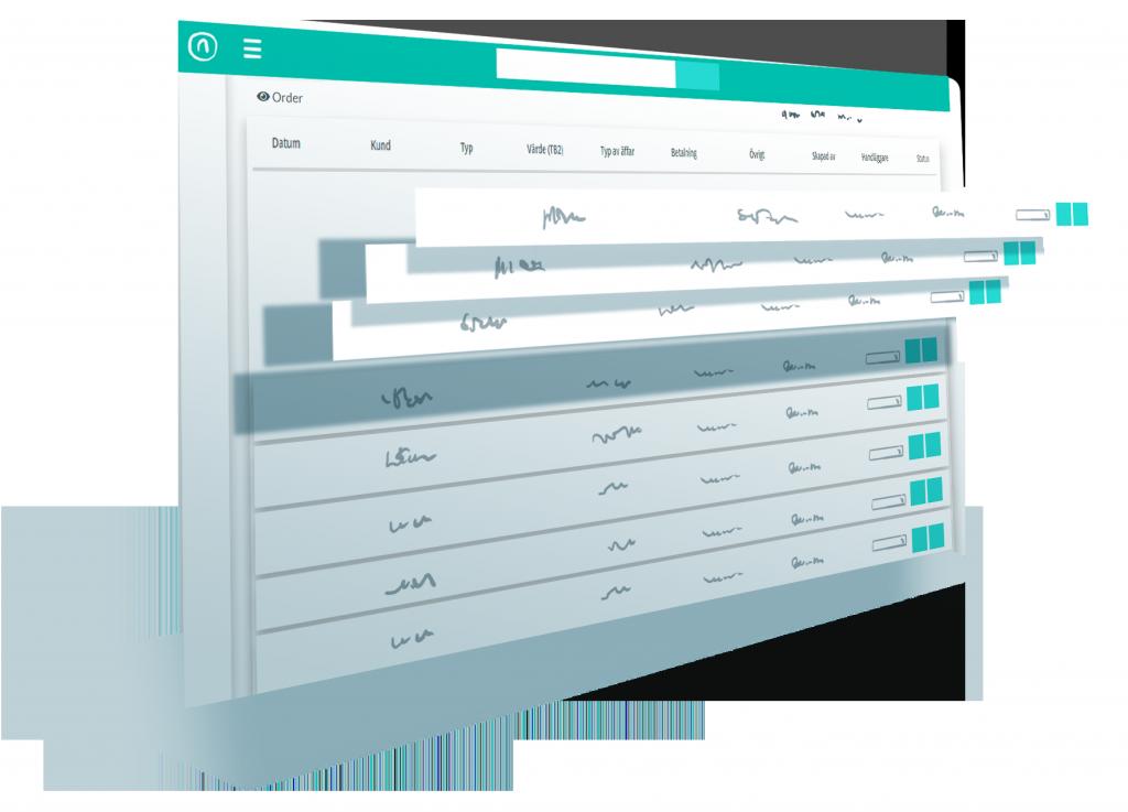 säljverktyg - orderhantering